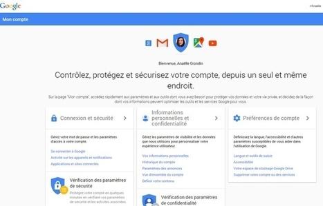 EXCLUSIF. Google crée «Mon compte» pour mieux gérer sa vie privée en ligne | Stratégie Marketing et E-Réputation | Scoop.it