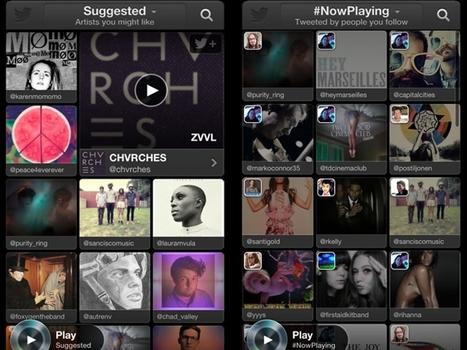 Twitter lanceert eigen muziekdienst | Nieuwe toepassingen ICT in bedrijven | Scoop.it