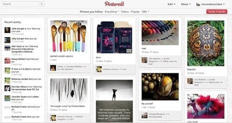 Pinterest, otro concepto de red social que arrasa - Rincón didáctico de Ciencias Sociales, Geografía e Historia | Utilidades TIC para el aula | Scoop.it