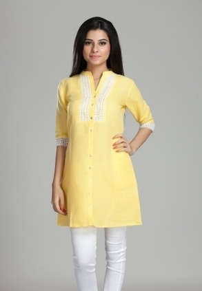Find Best Discount Deals with Low Price on Designer Front Open Lace Style Tunic for Women's, Buy Front Open Lace Style Tunic Only Rs-1499 At Best Online Designer Store for ladies in India | Buy  Women Shirts‎ on itibeyou.com | Scoop.it