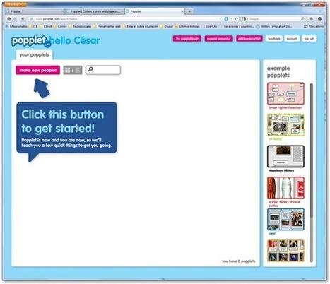 Manual de Popplet. Organizar nuestras ideas | Cajón de sastre Web 2.0 | Scoop.it