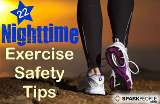 Safety Tips for Nighttime Exercisers | One Step at a Time | Scoop.it