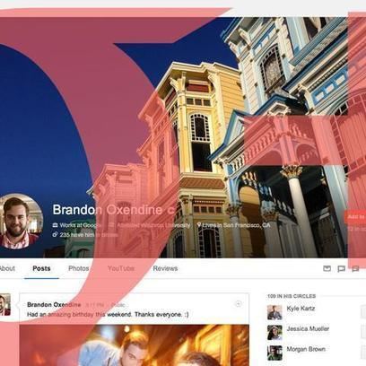Google+ Rolls Out Design Changes Ahead of Facebook 'New Look' Launch | iGeneration - 21st Century Education | Scoop.it