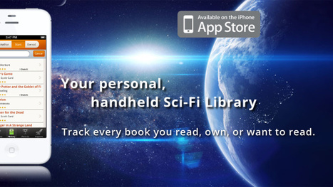 The Best app for science fiction readers | Science Fiction Books | Scoop.it