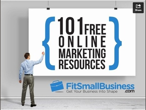 Looking for some marketing resources? Here are 101 for you! | Social Media Tips, News, and Tools | Scoop.it