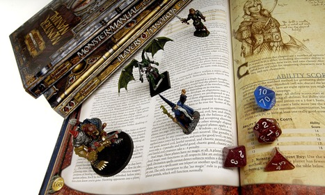 Role-playing games: Games such as Dungeons and Dragons could help to solve some of the greatest technological challenges of our time | Literature Reviews | Scoop.it