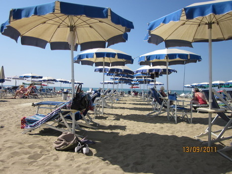 Beach Time - Viareggio, Italy Travel Blog | Italia Vive! | Scoop.it