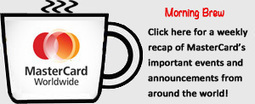 MasterCard Morning Brew - pymnts.com | Merchant Services ~ Credit Card Processing | Scoop.it