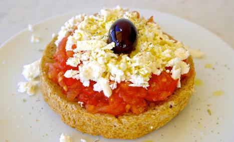 The Cretan Dakos: This is What The Mediterranean Diet is All About | Olive Tomato | Cretan Cuisine | Scoop.it