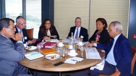 Edouard Fritch rencontre Victorin Lurel pour parler des accords de Papeete (Polynésie) | Revue de presse SPG | Scoop.it