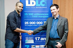 Tony Parker va booster les ventes de LDLC.com pour Noël | EVENTS, SPORT & SPONSORING | Scoop.it