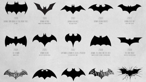 The Evolution of the Batman Logo, Visualized | Internet Nation | Scoop.it