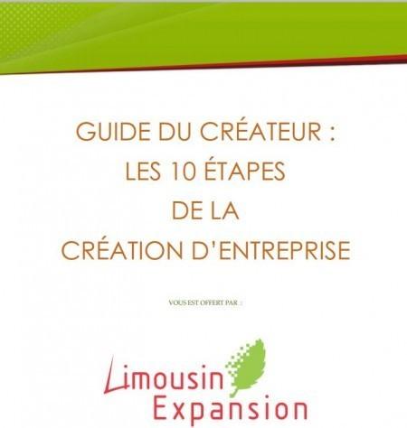 Les 10 étapes de la création d'entreprise : Guide Gratuit à Télécharger | Time to Learn | Scoop.it