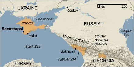 Crimea, the Tinderbox | AP Human Geography Herm | Scoop.it