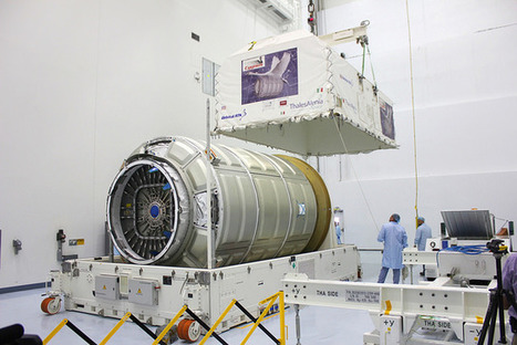 Orbital ATK receives orders for two more ISS cargo flights | Spaceflight Now | The NewSpace Daily | Scoop.it