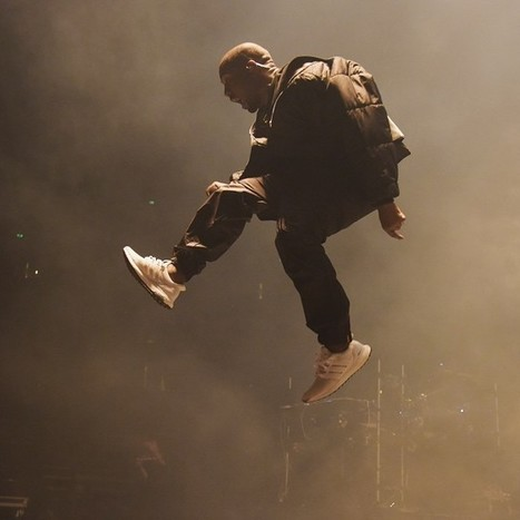 Kanye West Rocks White adidas Ultra Boost At Concert, Shoe Sells Out Online Soon After   #Design   Scoop.it