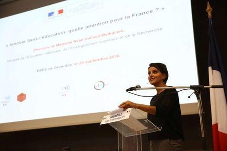 Renforcer la culture de l'innovation dans l'Éducation nationale – Discours de Grenoble | Najat Vallaud-Belkacem | Open & Social Innovation | Scoop.it