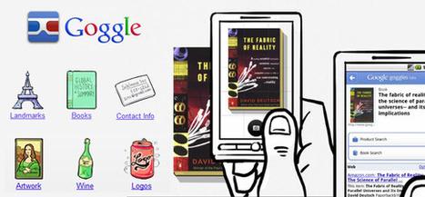 GOGGLE l'application qui recherche tous types d'images. | Application pour Tablettes Android | Scoop.it