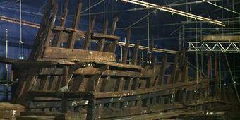 L'épave du premier navire de guerre anglais dans un musée - L'Express | L'actu culturelle | Scoop.it
