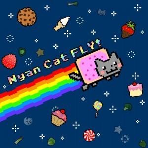 Nyan Cat FLY! Game | Cute & Useless | Scoop.it