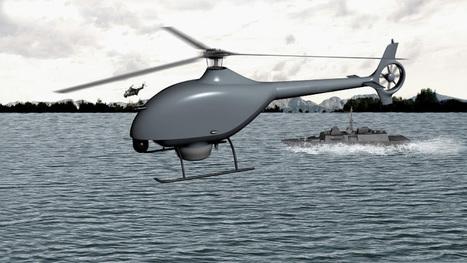 Un partenariat DCNS/Airbus Helicopters pour les drones embarqués | Hélicos | Scoop.it