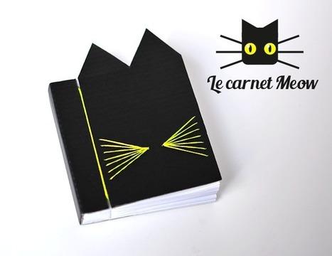 Sanglota | Le Carnet Meow (DIY + Printable) | Travaux Manuels | Scoop.it