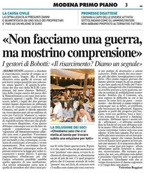 Parco delle Rimembranze, la parola deve essere data ai cittadini. | Modena Come | Smart city e smart community | Scoop.it