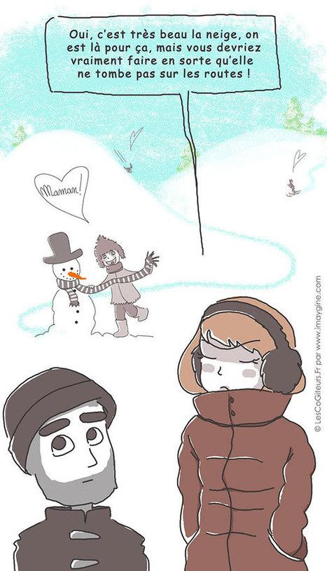 On aime la neige mais quand même... - LesCoGîteurs   Les CoGîteurs   Scoop.it