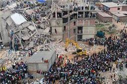 Workers protest in Dhaka over factory deaths | Chris' Regional Geography | Scoop.it