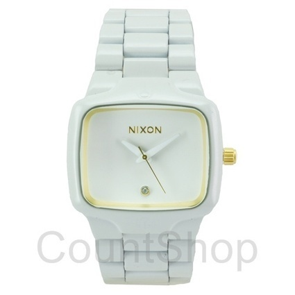 Buy Nixon Player A140 All White / Gold Watch online | DiscountShop- An Online Authentic Watch Store | Scoop.it