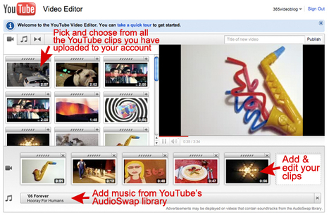 Using the YouTube Video Editor (free webinar) ~ edWeb | Into the Driver's Seat | Scoop.it