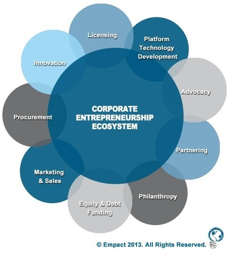 What Startups Need to Understand About The  Booming Corporate Entrepreneurship Ecosystem | #SocEnt | Scoop.it