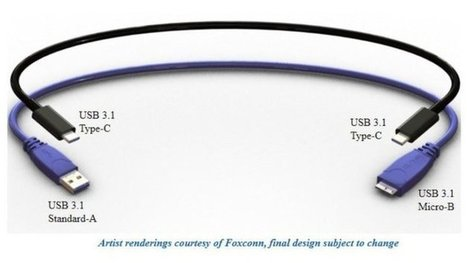 Reversible USB cable design shown off for first time   Teaching and learning   Scoop.it
