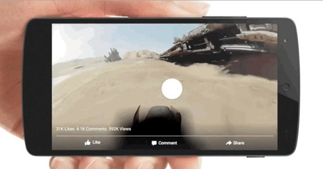 Facebook Unleashes VR-Style 360 Videos For Ads And iOS | 4D Pipeline - trends & breaking news in Visualization, Mobile, 3D, AR, VR, and CAD. | Scoop.it