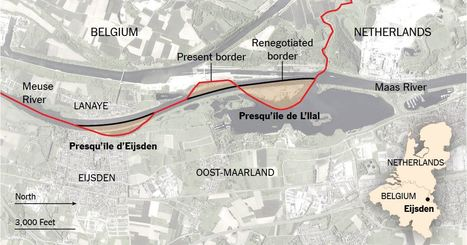 Belgium and the Netherlands Swap Land, and Remain Friends | Cultural Geography | Scoop.it