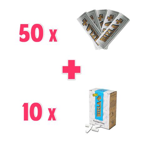 Promo Cartine Rizla Corte Silver + Filtri Rizla Slim 6mm | Promozioni Fumatori | Scoop.it
