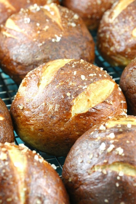 The Stay At Home Chef: Homemade Pretzel Rolls   Happy Nibbler   Scoop.it