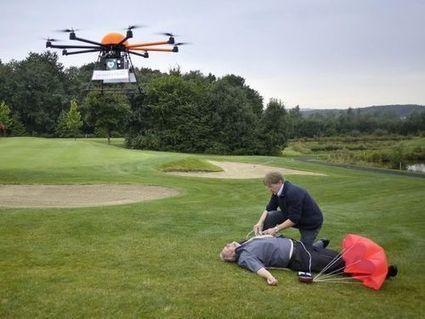 Un drone sauve la vie d'un homme de 82 ans   Drone et prises de vues aériennes   Scoop.it