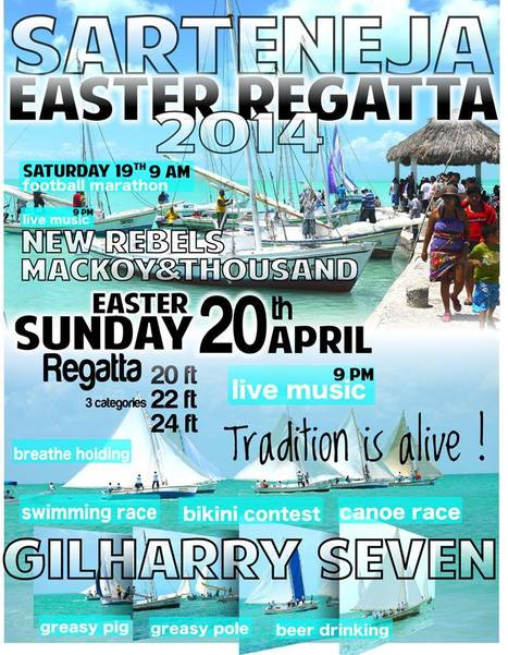 Sateneja Easter Regatta - Sunday, April 20th | Travel - Things to do in Belize | Scoop.it