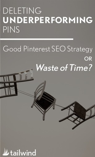 Deleting Underperforming Pins – Good Pinterest SEO Strategy or Waste of Time? | Pinterest | Scoop.it