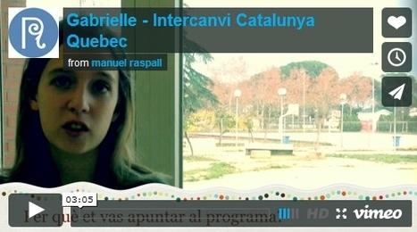 Intercanvi de l'Institut Arquitecte Manuel Raspall de Cardedeu amb Quebec | Français | Scoop.it