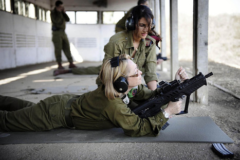 Beautiful half of the Israeli army | Impressions | Scoop.it