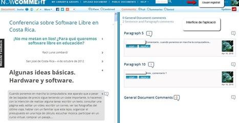 NowComment: eina per generar discussions a partir d'un document | Flipped Classroom | Scoop.it