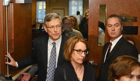 Curley, Schultz arraigned and released on $75,000 unsecured bail - The Daily Collegian Online   Scandal at Penn State   Scoop.it