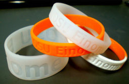 A wristband for a different kind of cause ... environmental health | Sustainability Science | Scoop.it