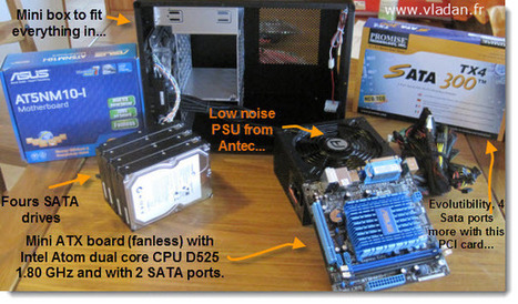 How to build a low cost NAS for VMware Lab - introduction - ESX Virtualization   IT Stuff   Scoop.it