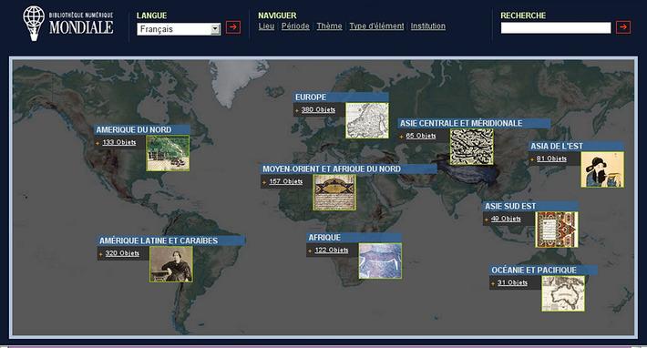Bibliothèque numérique mondiale | World Digital Library | Kiosque du monde : A la une | Scoop.it