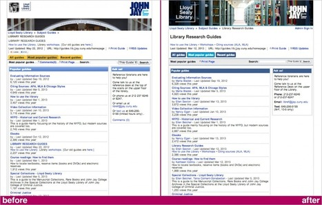 Easy LibGuides makeover - Emerging Tech in Libraries   Thoughts from the GWL   Scoop.it