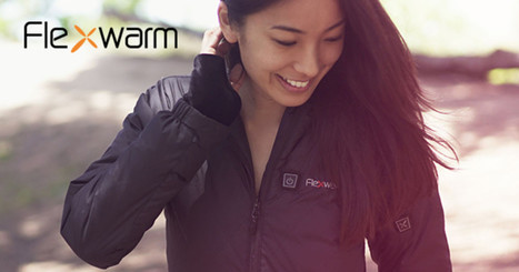 Flexwarm - Active Climate Control Heated Jacket | Cool Companies, Products & Services | Scoop.it