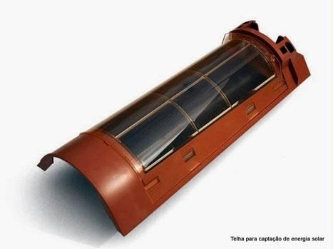 Telha cerâmica fotovoltaica | vivagreen | Educação Tecnológica | Scoop.it
